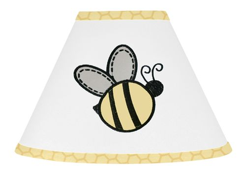 Honey Bee Lamp Shade by Sweet Jojo Designs - Click to enlarge