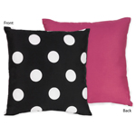 Hot Dot Modern Decorative Accent Throw Pillow by Sweet Jojo Designs