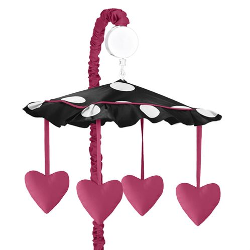 Hot Dot Musical Baby Crib Mobile by Sweet Jojo Designs - Click to enlarge