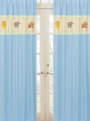 Jungle Safari Window Treatment Panels - Set of 2 - Click to enlarge