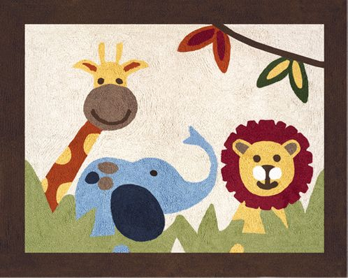 Jungle Time Accent Floor Rug - Click to enlarge