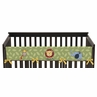 Jungle Time Baby Crib Long Rail Guard Cover by Sweet Jojo Designs