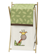 Jungle Time Baby/Kids Clothes Laundry Hamper for Jungle Time Bedding