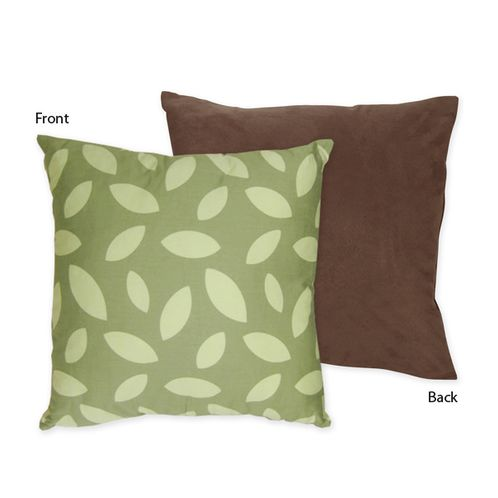 Jungle Time Decorative Accent Throw Pillow by Sweet Jojo Designs - Click to enlarge