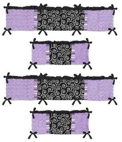 Kaylee Collection Crib Bumper by Sweet Jojo Designs