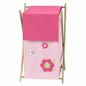Kids Laundry Hamper for the Pink and Green Flower Collection by Sweet Jojo Designs