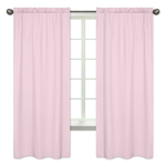Light Pink Window Treatment Panels by Sweet Jojo Designs - Set of 2