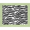 Lime Funky Zebra Accent Floor Rug