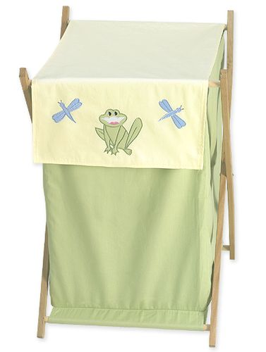 Little Froggy Baby and Kids Frog Clothes Laundry Hamper - Click to enlarge