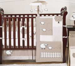 Little Lamb Baby Bedding - 9pc Crib Set by Sweet Jojo Designs