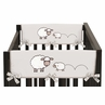 Little Lamb Baby Crib Side Rail Guard Covers by Sweet Jojo Designs - Set of 2