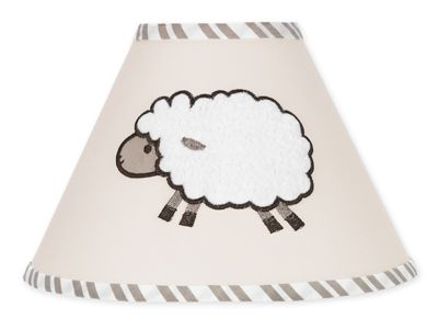 Little Lamb Lamp Shade by Sweet Jojo Designs - Click to enlarge