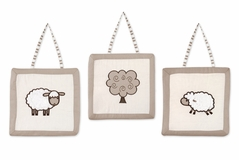 Little Lamb Wall Hanging Accessories by Sweet Jojo Designs