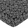 Madison Fitted Crib Sheet for Baby/Toddler Bedding Sets - Scroll Print