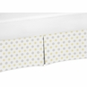 Mini Floral Print Crib Bed Skirt for Mod Garden�Baby Bedding Sets by Sweet Jojo Designs