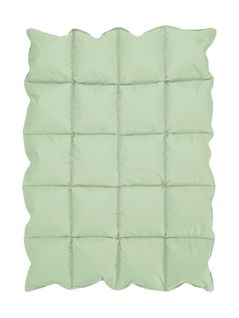 Mint Green Baby Crib Down Alternative Comforter / Blanket
