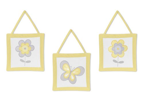 Mod Garden Wall Hanging Accessories by Sweet Jojo Designs - Click to enlarge