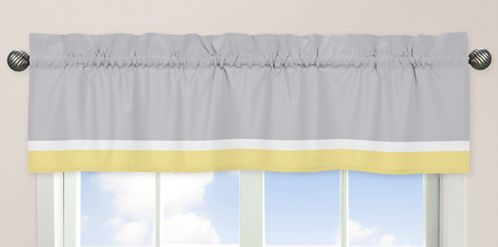 Mod Garden�Window Valance by Sweet Jojo Designs - Click to enlarge