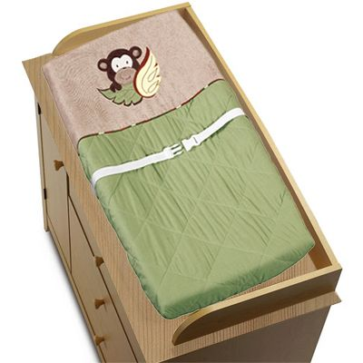 Monkey Baby Boys Changing Pad Cover - Click to enlarge