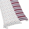 Nautical Nights Full Length Double Zippered Body Pillow Case Cover