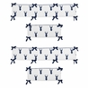 Navy and White Woodland Deer Baby Crib Bumper Pad by Sweet Jojo Designs