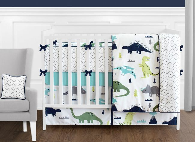 Navy Blue And Grey Modern Dino Foldable Fabric Storage Cube Bins Bo Organizer Toys Kids Baby Childrens For Mod Dinosaur Collection By Sweet Jojo