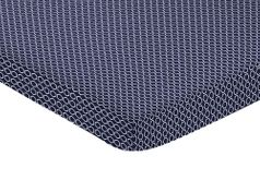 Navy Blue and White Hexagon Baby Fitted Mini Portable Crib Sheet for Arrow Collection by Sweet Jojo Designs