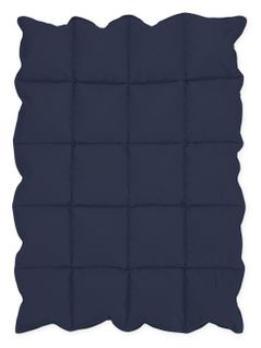 Navy Blue Baby Crib Down Alternative Comforter / Blanket