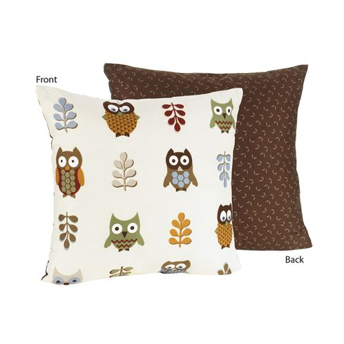 Night Owl Decorative Accent Throw Pillow - Click to enlarge