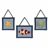 Ocean Blue Sea Life Wall Hanging Accessories by Sweet Jojo Designs