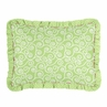 Olivia Pink and Green Girls Pillow Sham