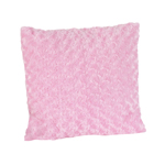 Olivia Pink Minky Decorative Accent Throw Pillow