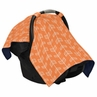 Orange and White Arrow Baby Infant Car Seat Carrier Stroller Cover by Sweet Jojo Designs
