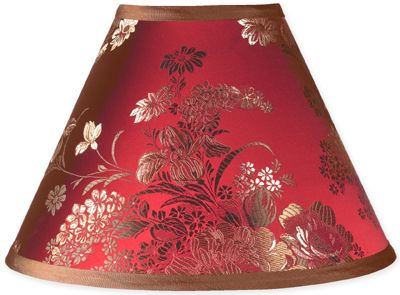 Oriental Garden Lamp Shade - Click to enlarge
