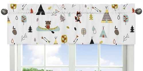 Outdoor Adventure�Collection Window Valance by Sweet Jojo Designs - Click to enlarge