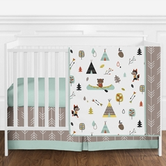 Outdoor Adventure Nature Baby Bedding - 11pc Crib Set by Sweet Jojo Designs