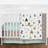 Outdoor Adventure Nature Baby Bedding - 4pc Girls or Boys Crib Set by Sweet Jojo Designs