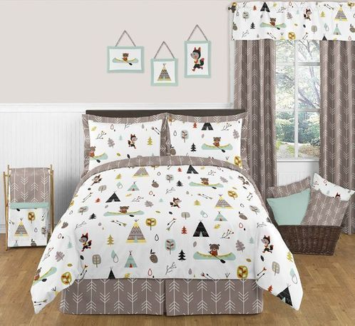 Outdoor Adventure Nature 3pc Full / Queen Bedding Set - Click to enlarge