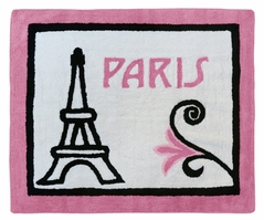 Paris Accent Floor Rug by Sweet Jojo Designs