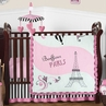 Paris Baby Bedding - 11pc Crib Set by Sweet Jojo Designs
