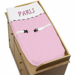 Paris Baby Changing Pad Cover by Sweet Jojo Designs