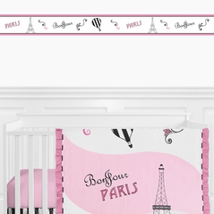 Paris Kids and Baby Modern Wall Paper Border