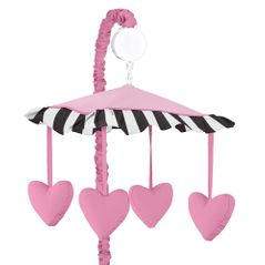 Paris Musical Baby Crib Mobile by Sweet Jojo Designs
