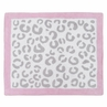 Pink and Gray Kenya Accent Floor Rug by Sweet Jojo Designs