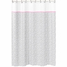 Pink and Gray Kenya Kids Bathroom Fabric Bath Shower Curtain by Sweet Jojo Designs