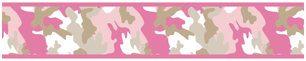 Pink And Khaki Camo Army Camouflage Baby Kids And Teens Wall Paper