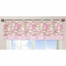 Pink and Khaki Camo Army Military Camouflage Window Valance by Sweet Jojo Designs