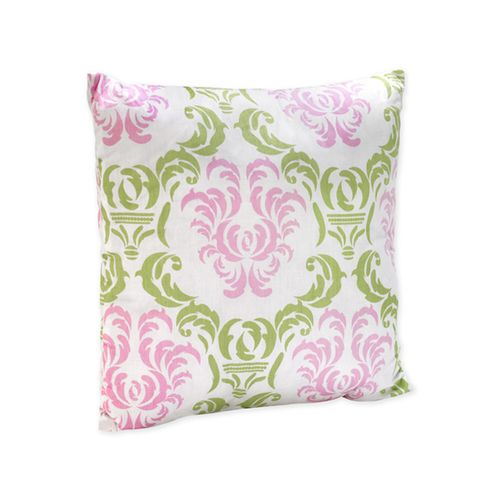 Pink and Lime Juliet Decorative Accent Throw Pillow - Click to enlarge