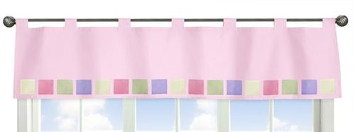 Pink and Purple Butterfly Window Valance - Click to enlarge