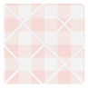Pink Buffalo Plaid Check Fabric Memory Memo Photo Bulletin Board by Sweet Jojo Designs - Blush and White Shabby Chic Woodland Rustic Country Farmhouse